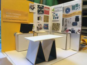 Mock-up of the VTA stand at BLE18
